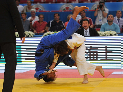 女子57kg級決勝 佐藤-R.シルバ