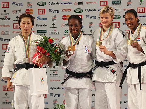 女子63kg級表彰式