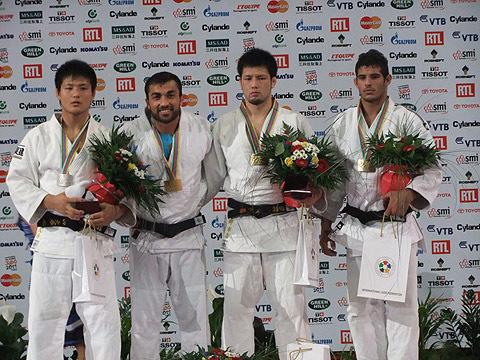 男子90kg級表彰式
