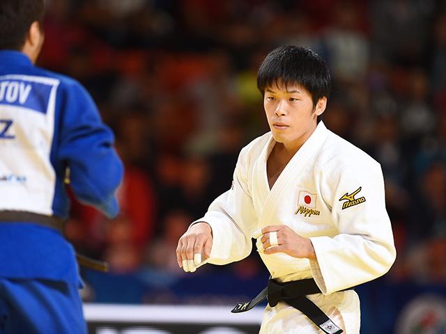 男子個人60kg級準決勝 志々目 徹選手 vs Y.SMETOV選手�A