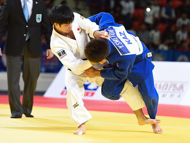 男子個人60kg級準決勝 志々目 徹選手 vs Y.SMETOV選手�B
