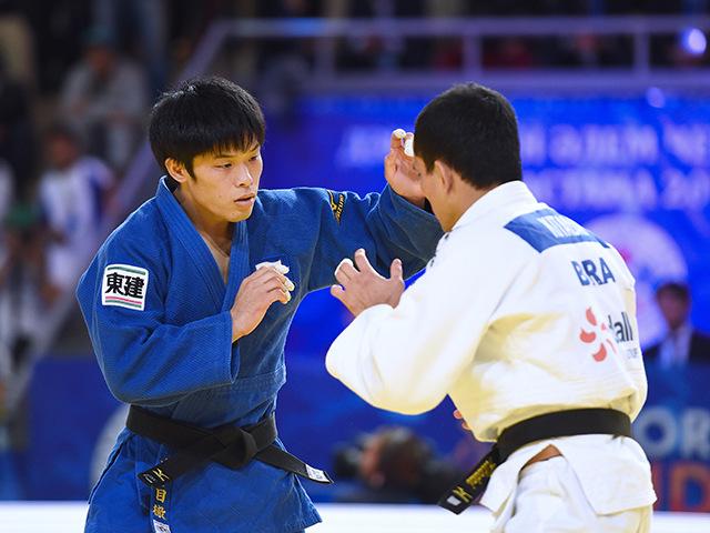 男子個人60kg級3位決定戦 志々目 徹選手 vs F.KITADAI選手�A