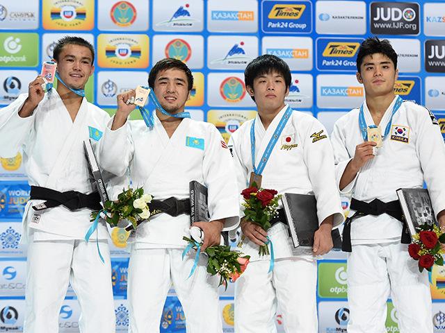 男子個人60kg級表彰式