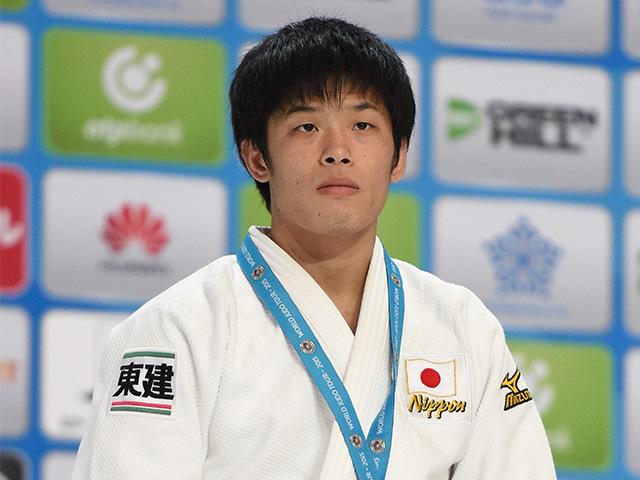 男子個人60kg級表彰式 3位 志々目 徹選手
