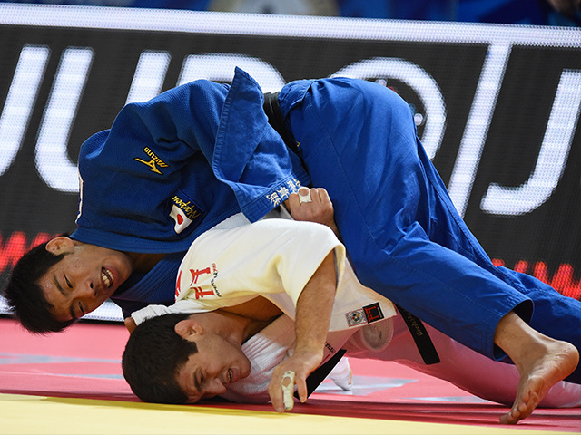 男子81kg級 準決勝 永瀬貴規 vs A.TCHRIKISHVILI