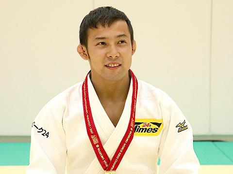 優勝選手インタビュー|男子60kg...