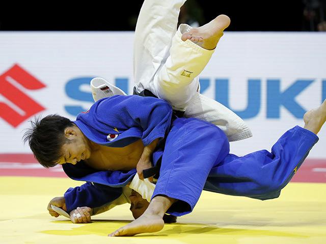 男子66kg級 決勝 阿部一二三 vs M.PULIAEV