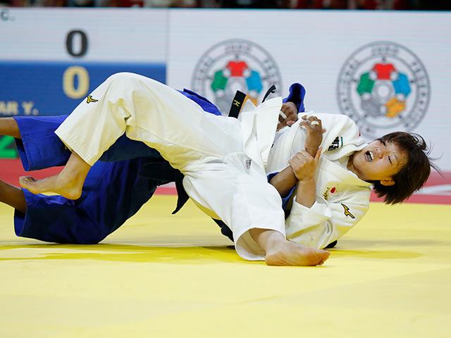女子70kg級 準決勝 新井千鶴 vs Y.ALVEAR