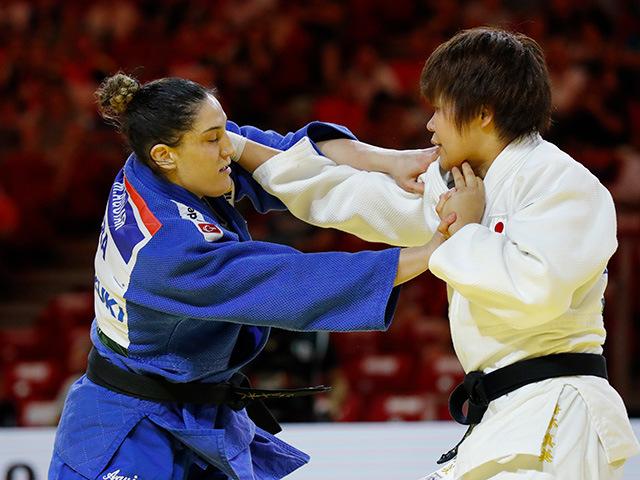 女子78kg級 決勝 梅木真美 vs M.AGUIAR