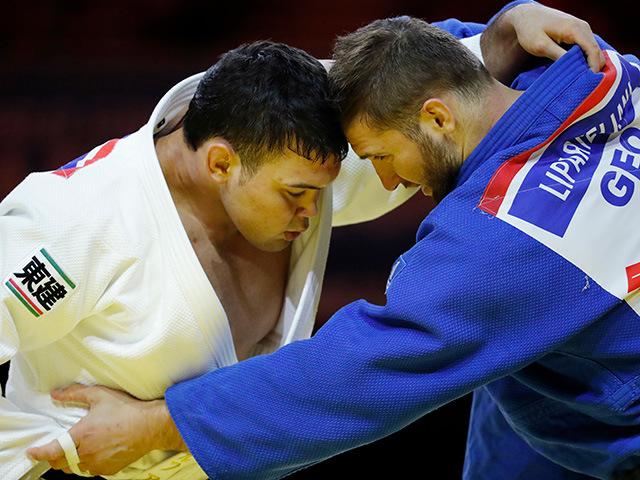 男子100kg級 決勝 ウルフアロン vs V.LIPARTELIANI