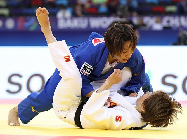 女子48kg級 準決勝 渡名喜風南 vs U.MUNKHBAT