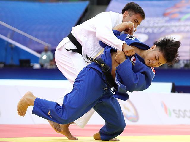 男子66kg級 決勝 阿部一二三 vs Y.SERIKZHANOV