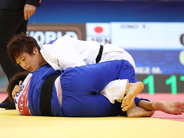 女子70kg級 3位決定戦 大野陽子 vs M.PEREZ