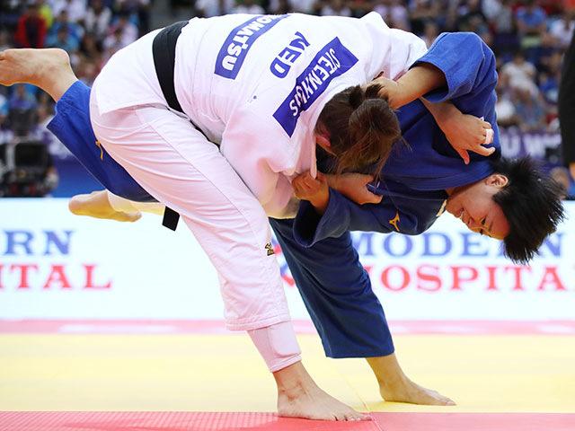 女子78kg級 決勝 濱田尚里 vs G.STEENHUIS