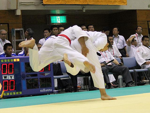 90kg級 山城太志 vs 佐藤圭将