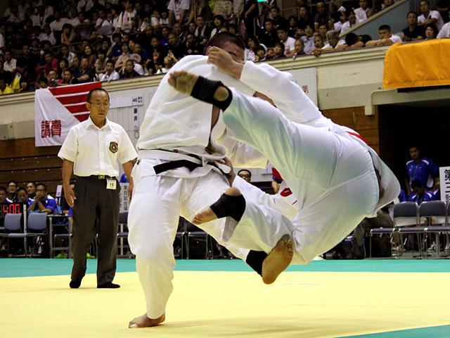 100kg超級 ウルフ アロン vs 名垣浦佑太郎