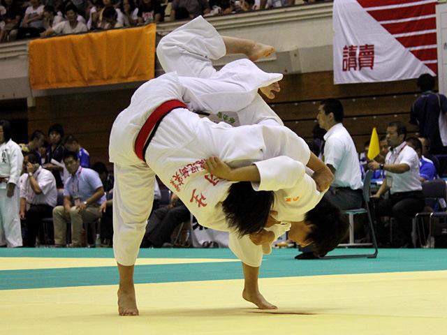 63kg級 安沙好 vs 羽生明紀子