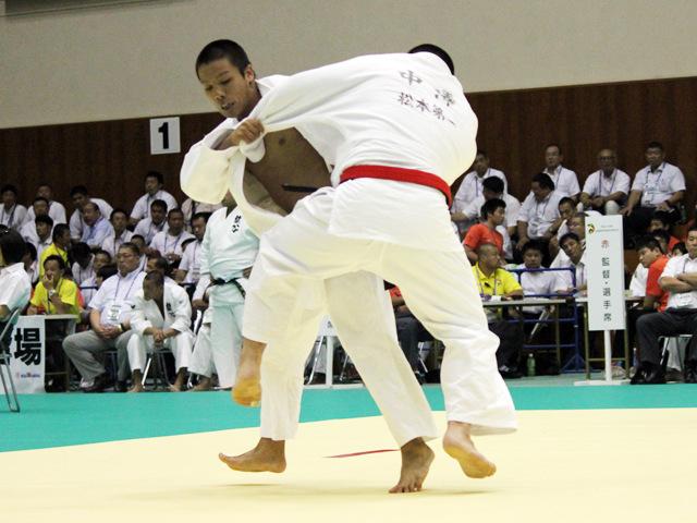 男子団体1回戦 青森山田高校vs松本第一高校