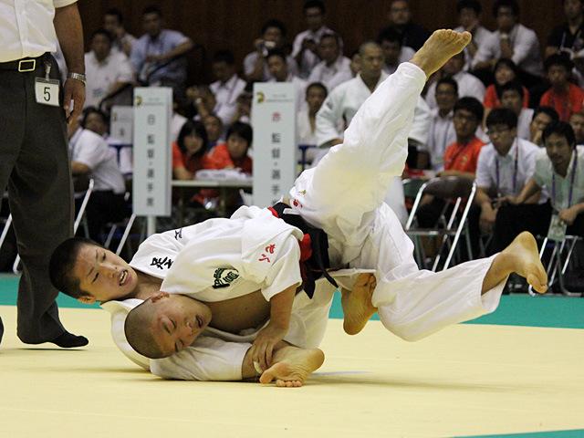 60kg級 阿部竜太 vs 藤阪泰恒