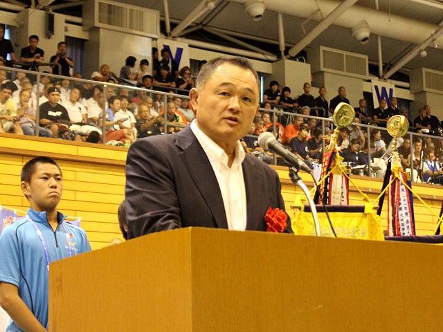 全日本柔道連盟山下泰裕 強化委員長 祝辞