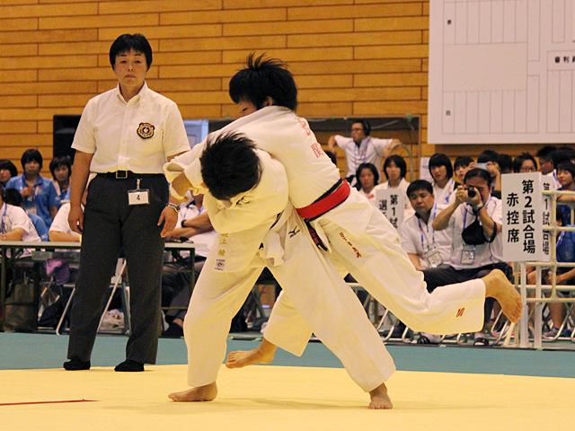 48kg級 坂上綾 vs 日下部敦美