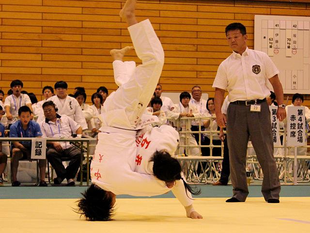 70kg級 石井美緒 vs 中江美裕