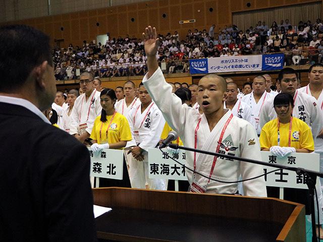 大会レポート「平成28年度全国高校総体 柔道競技開幕」