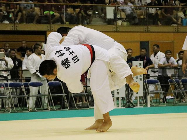100kg超級 磯村亮太 vs 河井康平