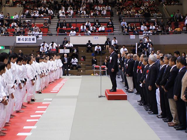 佐藤宣践(のぶゆき)大会会長の挨拶