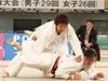 女子63kg級決勝戦 安松 春香(環太平洋) - 片桐 夏海(環太平洋)
