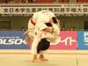 女子70kg級決勝戦 大野 陽子(立命館) - 谷口 亜弥(山梨学院)