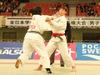 女子78kg級決勝戦 川島 巴瑠菜(旭川) - 三戸 彩渚(環太平洋)