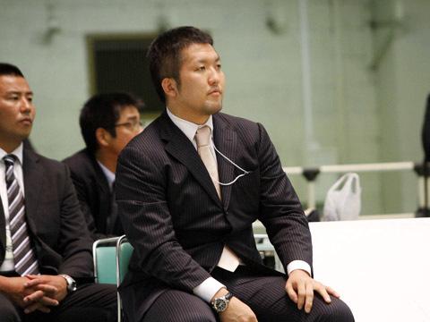 鈴木桂治選手