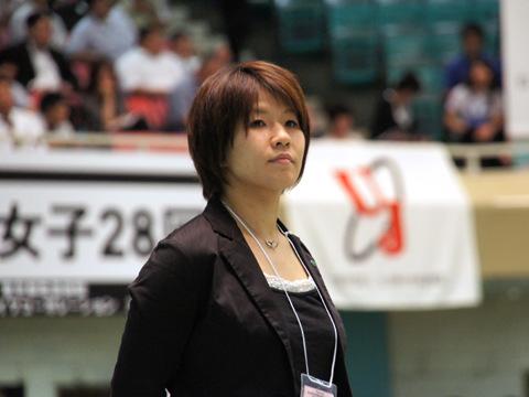 全日本女子57kg級 佐藤愛子氏
