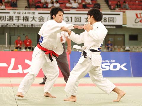 男子60kg級決勝 木戸慎二−志々目徹�@