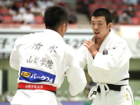 男子66kg級準決勝 小寺将史−清水健登�@