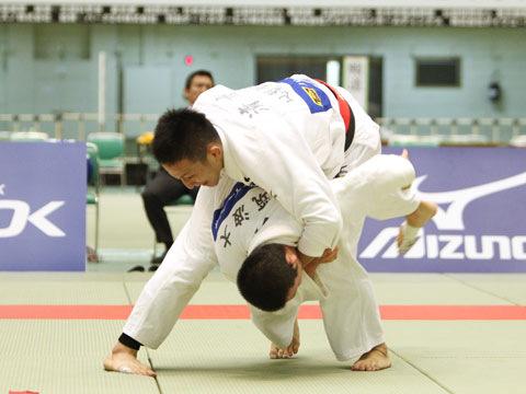 男子66kg級準決勝 小寺将史−清水健登�A