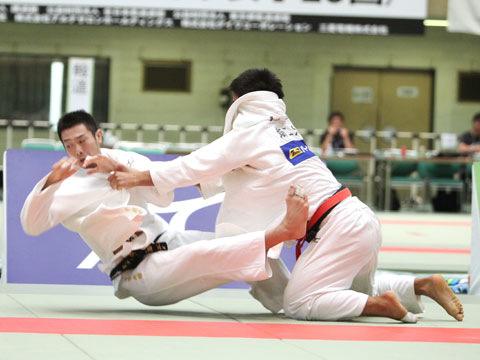 男子81kg級準決勝 大辻康太−宇都宮光樹�A