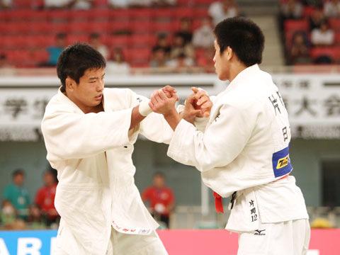 男子81kg級決勝 大辻康太−片岡仁�@