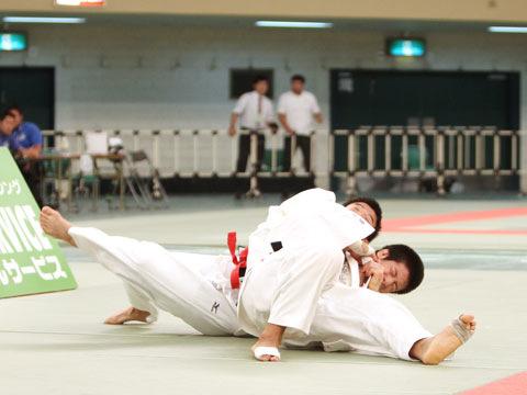 男子81kg級決勝 大辻康太−片岡仁�A