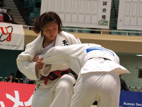 女子63kg級準決勝 大川愛−藤田ひろみ�@