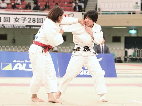 女子63kg級決勝 太田晴奈−大川愛�@