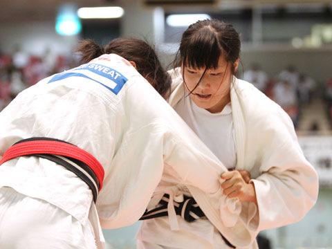 女子78kg級準決勝 西田香穂−重永聡美�C