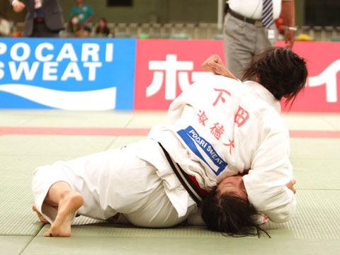 女子78kg級決勝 下田美紗季−西田香穂�A