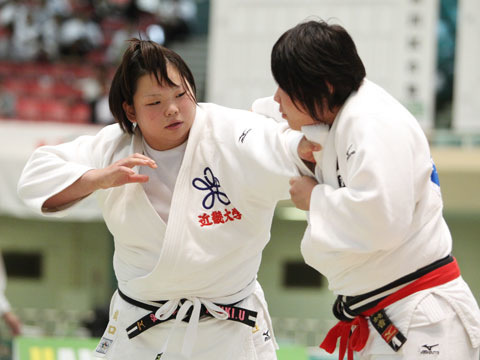 女子78kg超級準決勝 橋口ななみ−町純香�@