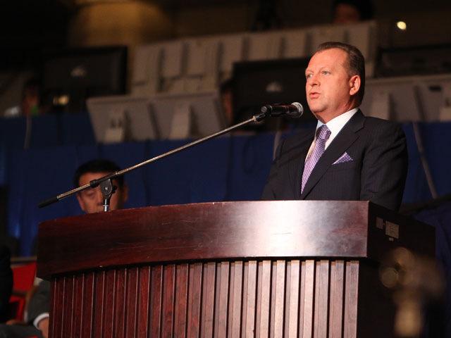 国際柔道連盟マリウス・ビゼール会長