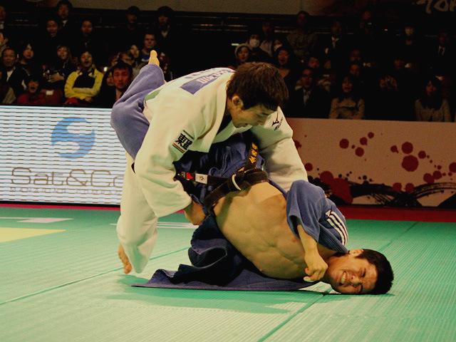柔道グランドスラム東京2013 男子60kg級 決勝 高藤直寿 vs J.KIM�@