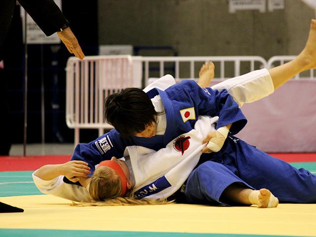 女子63kg級二回戦 田代未来vsA.BERNHOLM
