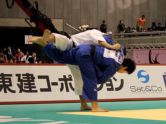 男子90kg級3位決定戦 西山大希vsA.HILDEBRAND