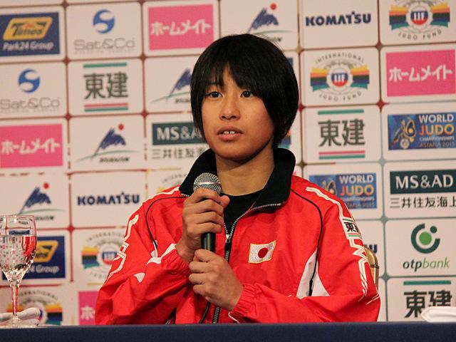 女子48kg級出場・近藤亜美選手